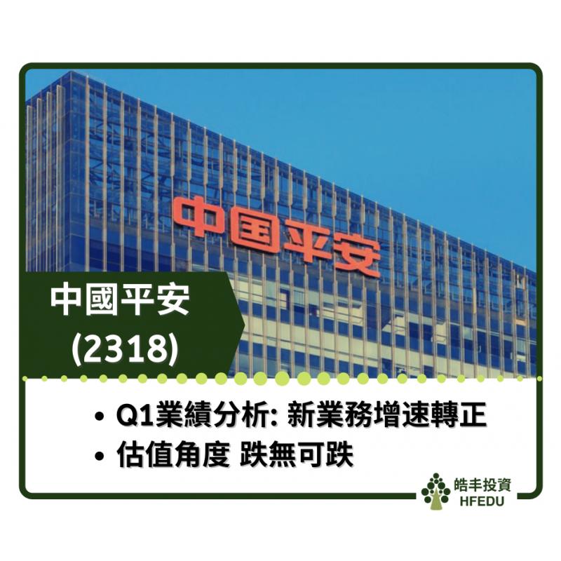 【中國平安 (2318) — Q1業績分析】